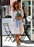Eva Mendes run solo errands around Town