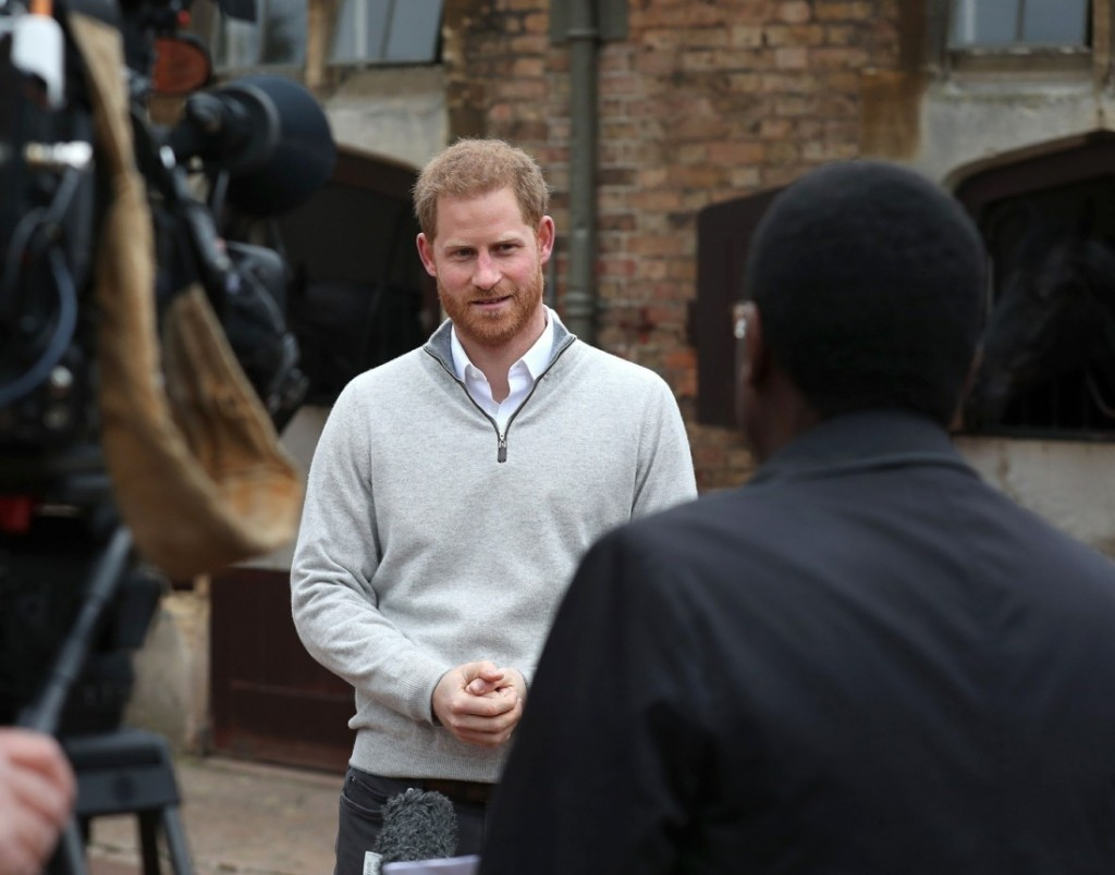 Prince Harry speaks of his and Meghan Markle's Royal baby joy