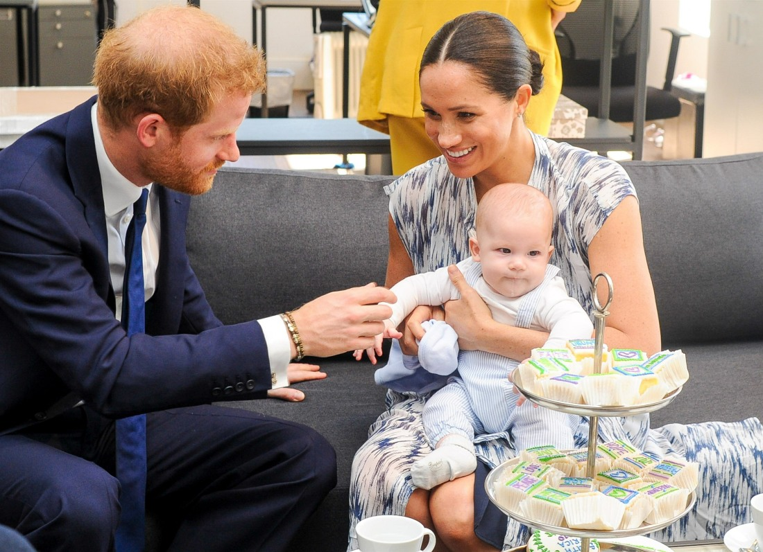 Prince Harry and Meghan Markle continue their visit to Africa