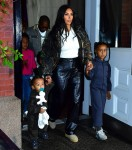 Kim Kardashian and Kanye West take their kids to Kanye's 'Jesus Is King' album release