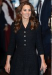 The Duke and Duchess of Cambridge leaving The Noël Coward Theatre in London