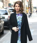 Katherine Schwarzenegger stops by Starbucks after a visit to The View