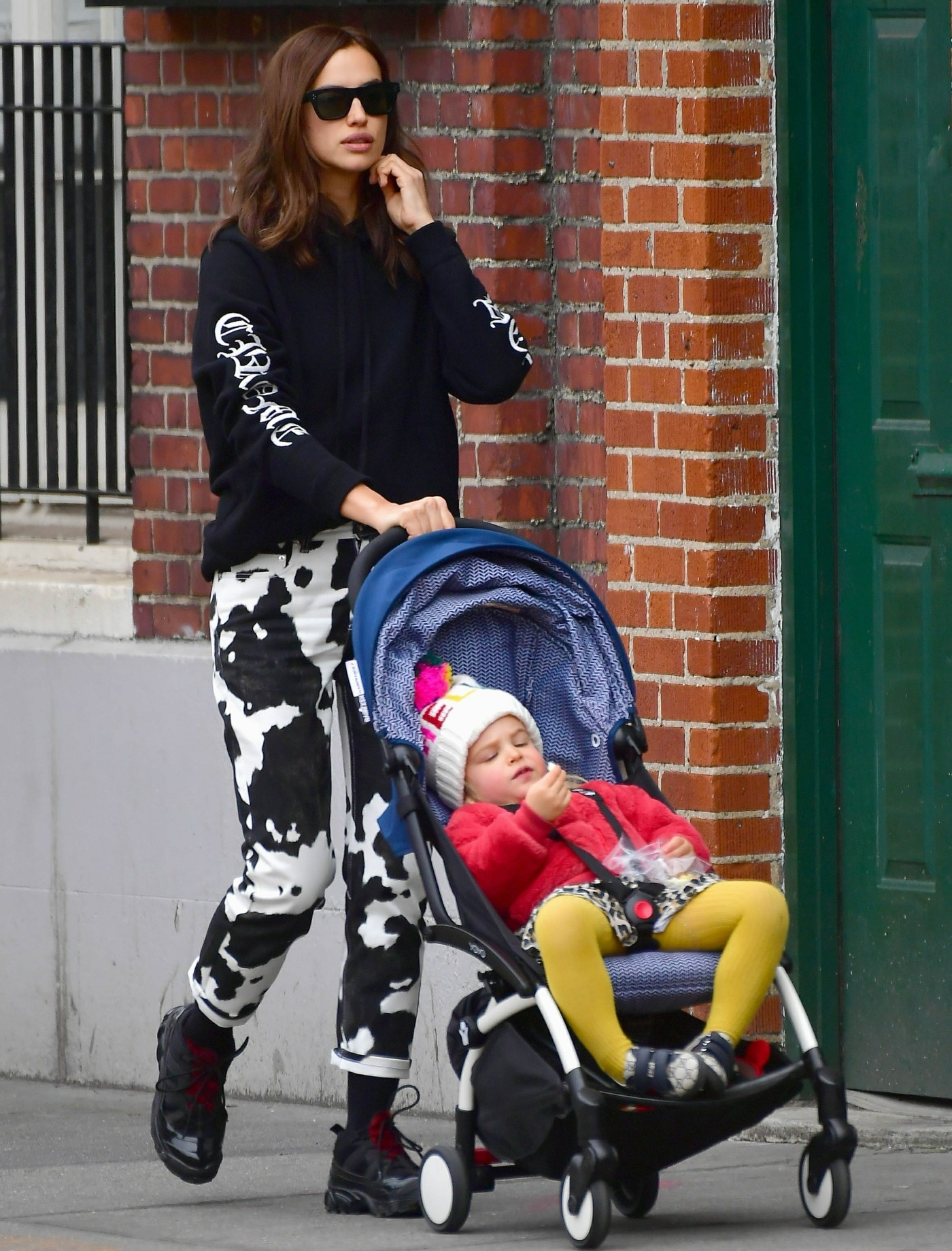 Irina Shayk enjoys a morning out with her daughter