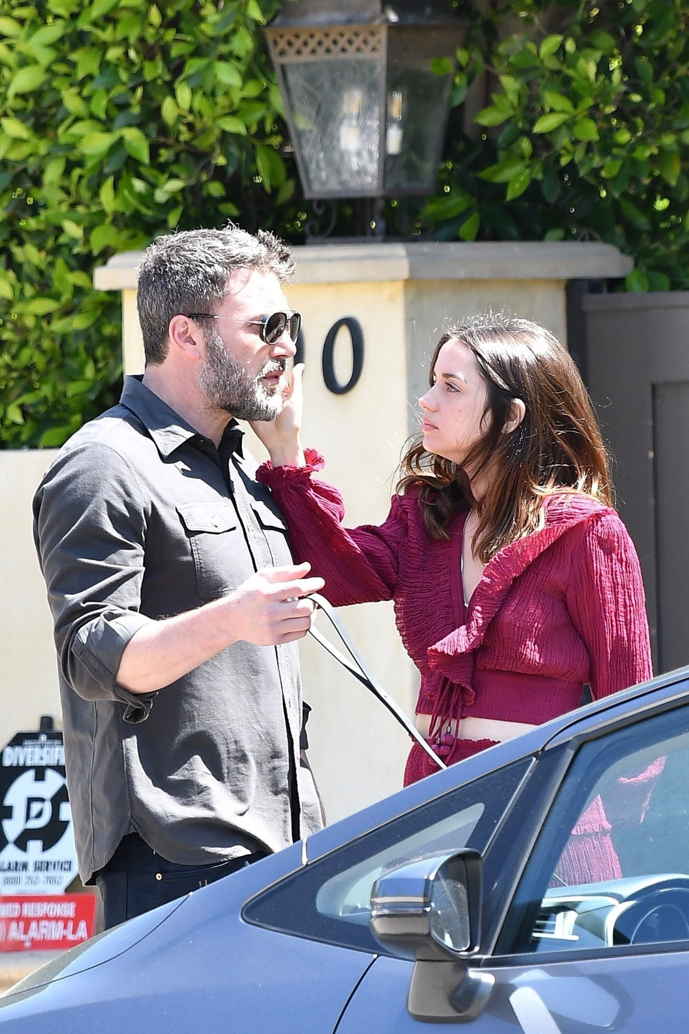 Ben Affleck and Ana de Armas show a lot of affection