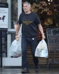 Olivier Martinez gets his usual Baguette at Bristol Farms