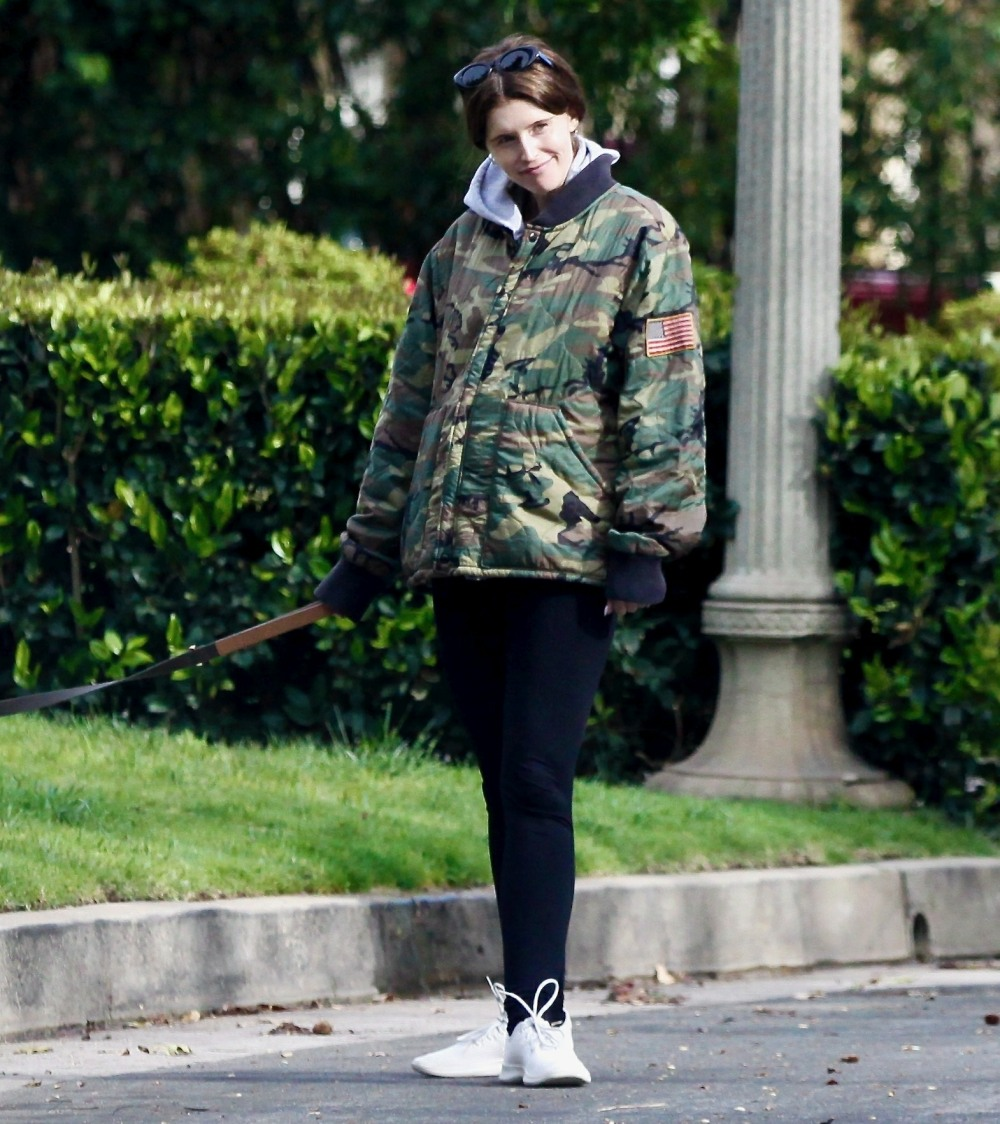 Katherine Schwarzenegger Goes for a Stroll with Maria Shriver and Family