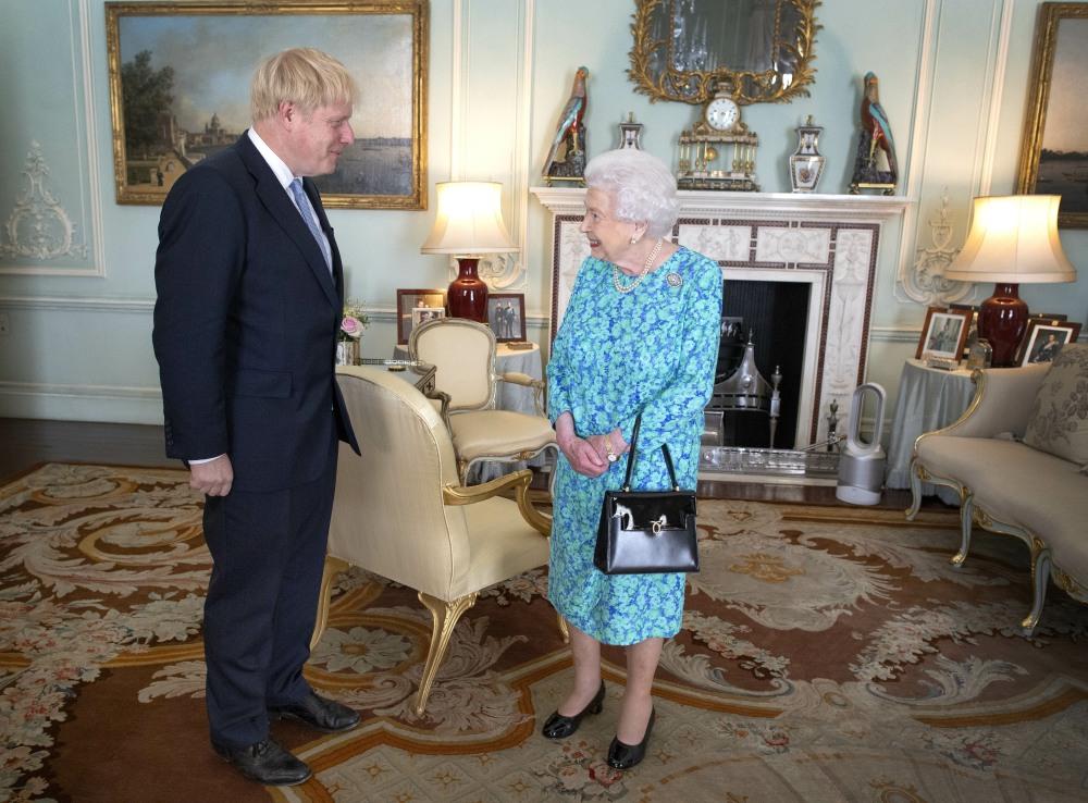 Boris Johnson becomes PM
