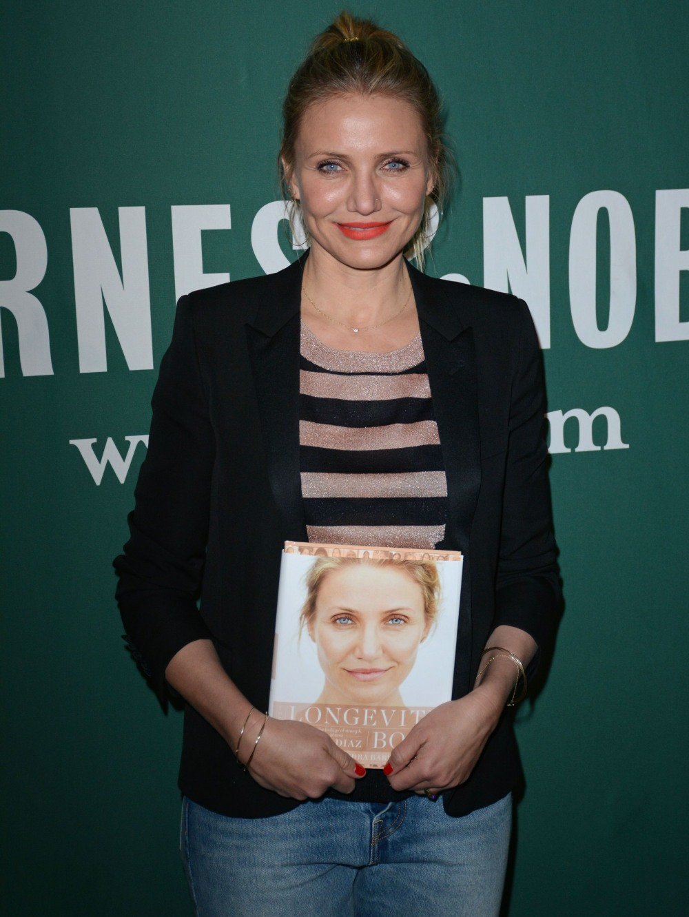 Cameron Diaz at in-store appearance for...