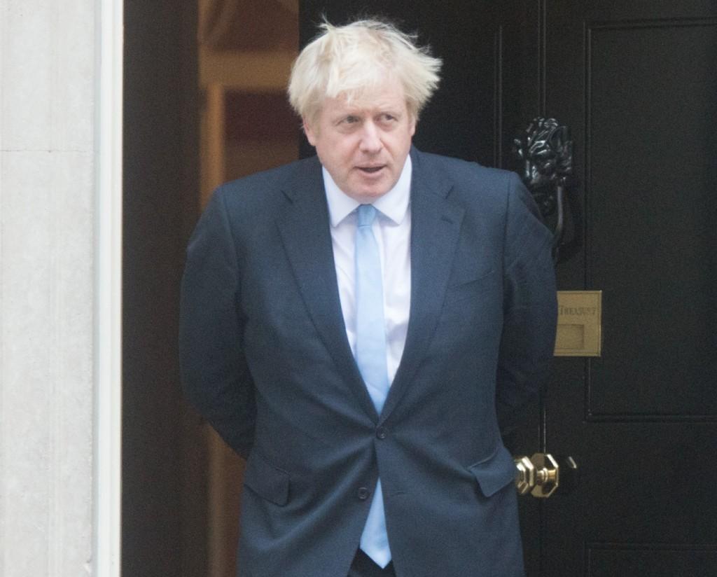 Israeli PM Visit - Thursday September 2019 - Downing Street, London