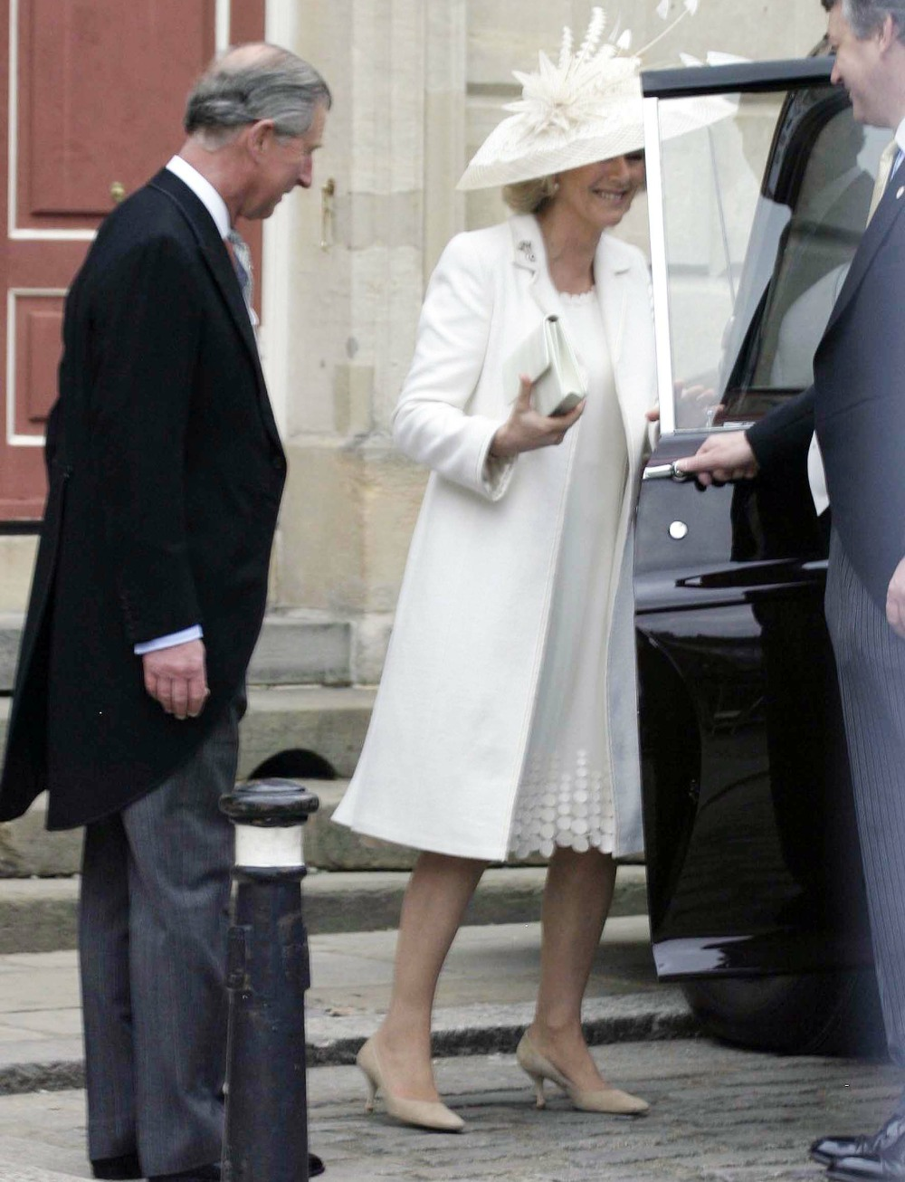 WEDDING OF HRH PRINCE CHARLES TO MRS CAMILLA PARKER BOWLES.