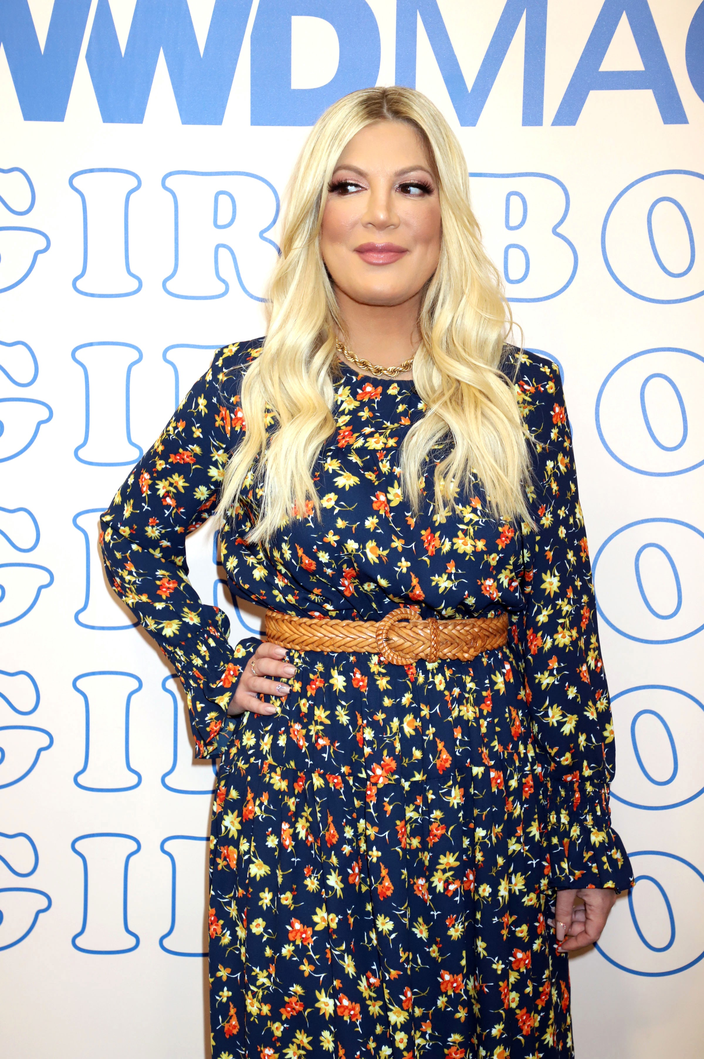 Tori Spelling 90s & 90210 Fashion with TORI SPELLING Hosted By RACHEL MCCORD  WWD Magic Social House...