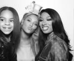 Kim Kardashian and Kourtney Kardashian head to Kanye West's Sunday Service