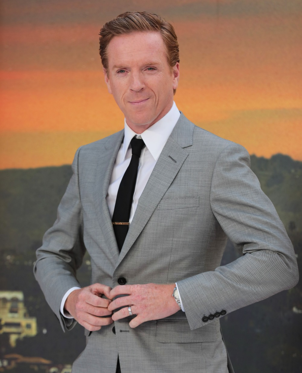 Damian Lewis at 'Once Upon a Time in... Hollywood' film premiere, London, UK
