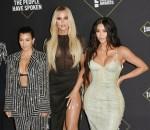 Kris Jenner,Kourtney Kardashian,Khloe Kardashian, Kim Kardashian attends the 2019 E Peoples Choice Awards at Barker Hangar on November 10, 2019 in Santa Monica, California© Jill Johnson/jpistudios.com