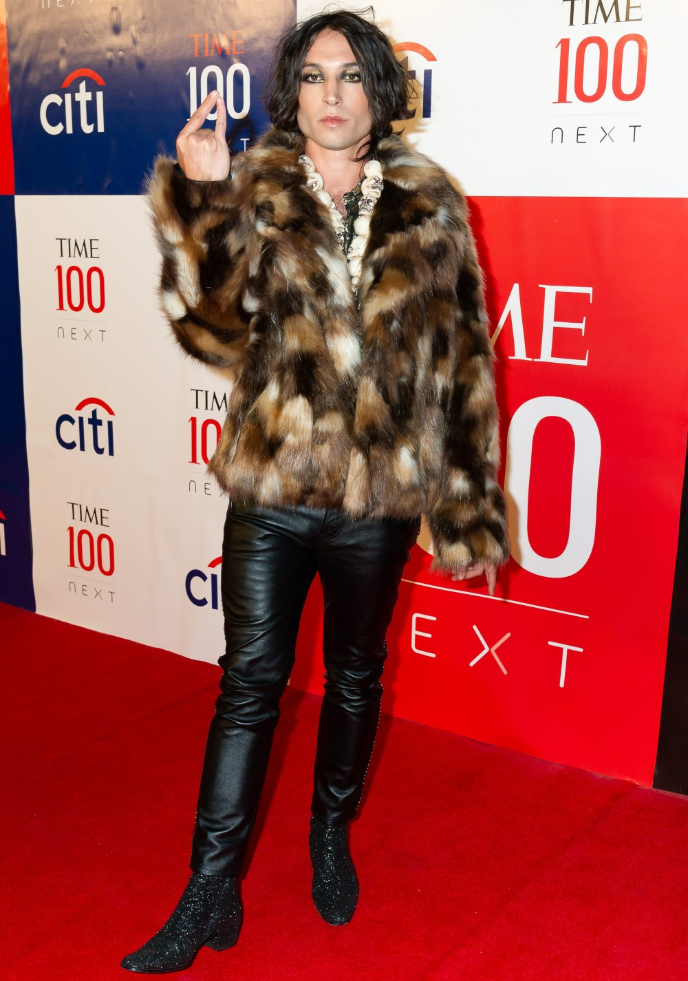Ezra Miller at arrivals for First Annual...