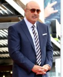 Dr Phil McGraw at the induction ceremony...