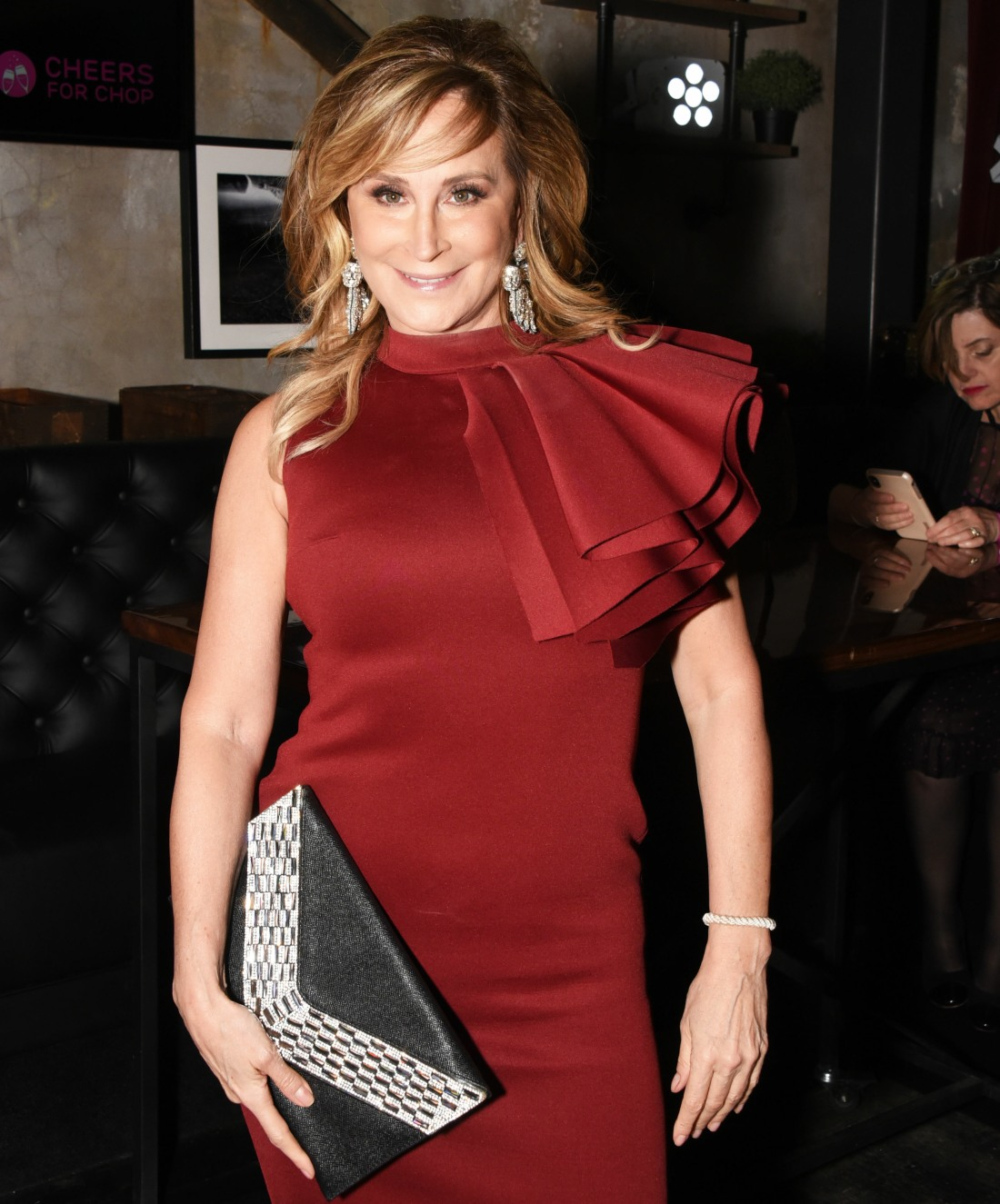 Sonja Morgan at Cheers for Chop Gala