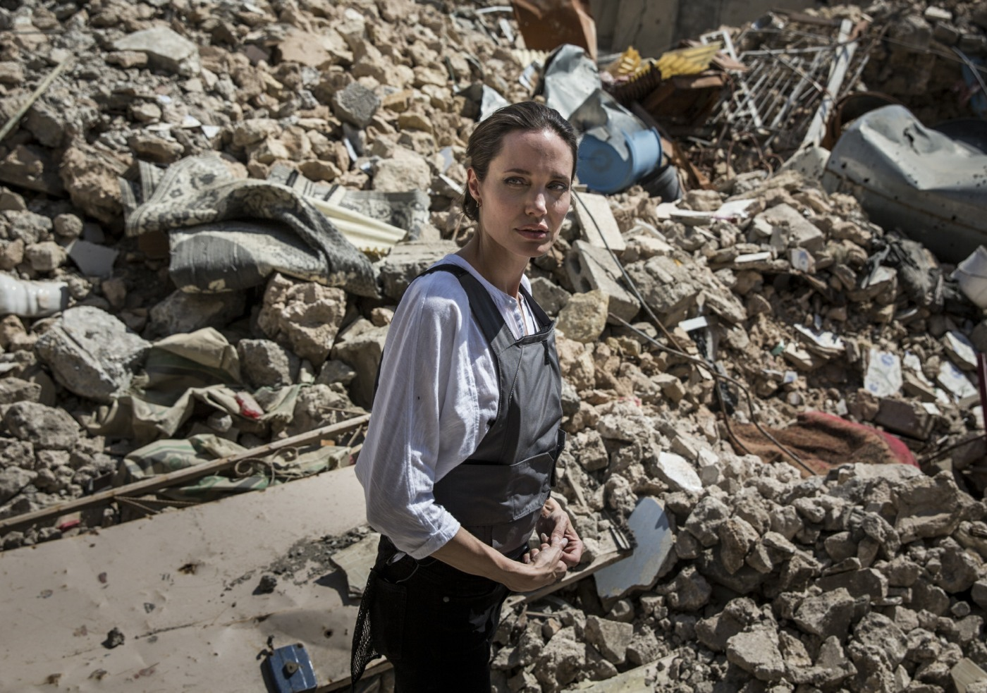 Baby Health in Winter UNHCR Special Envoy Angelina Jolie Visits Iraq