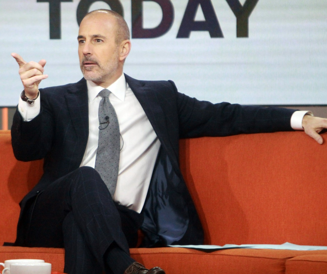 NBC fires Matt Lauer after complaint about 'inappropriate sexual behavior' **FILE PHOTOS**