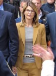 Actress Lori Loughlin exiting Boston court