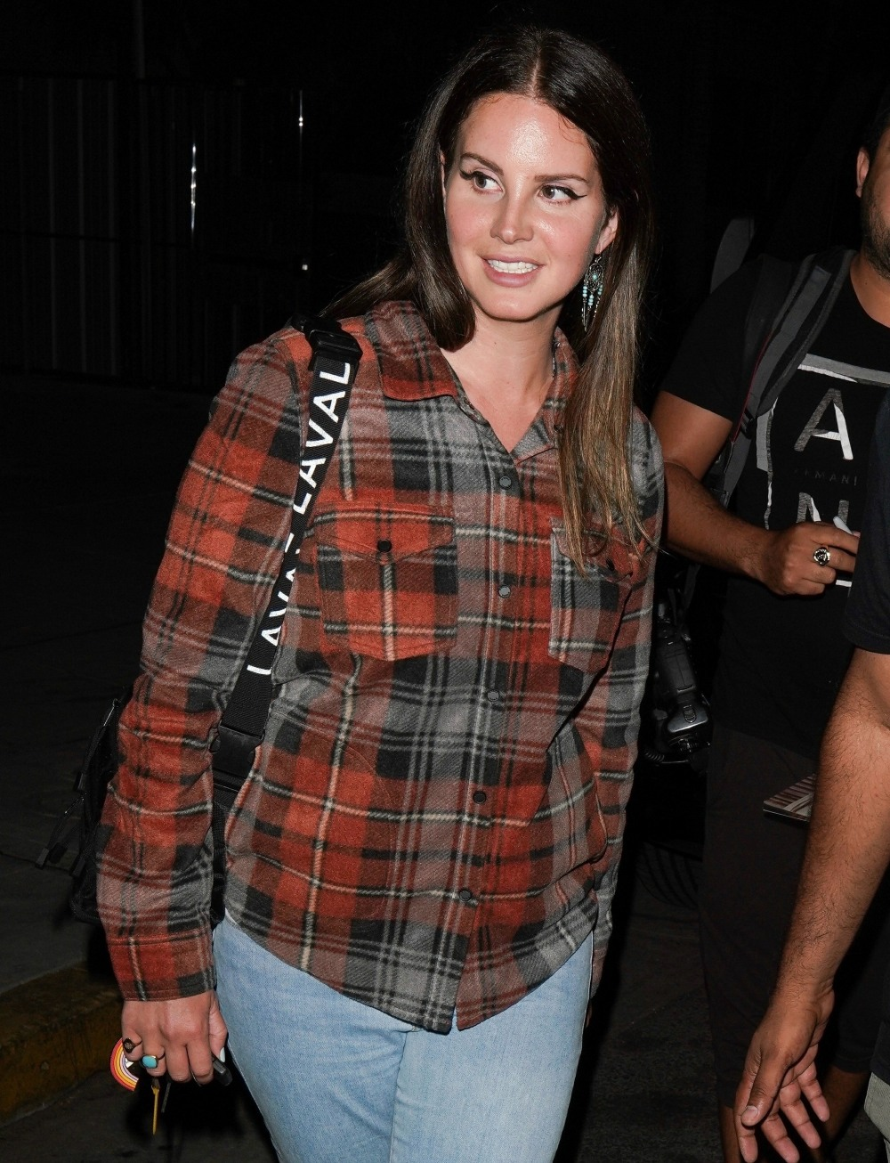 Lana del Rey keeps it casual while leaving Wednesday night Church service in Beverly Hills