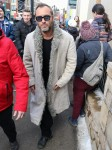 Jude Law attends the Sundance Film Festival  in Utah