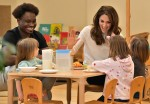 Best Photos of Kate Middleton's Pre-School Breakfast Visit!