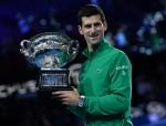 Novak Djokovic wins the Australian Open 2020 in Melbourne