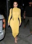 Kim Kardashian arrives at Carousel restaurant in Glendale for a family dinner