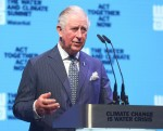 Prince Charles at WaterAid Water and Climate Event