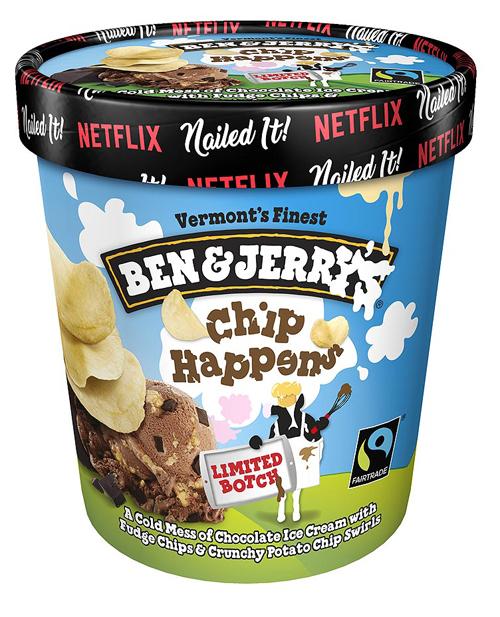 Ben & Jerry's Chip HappensCredit: Ben & Jerry's