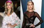 Hailey Rhode Baldwin Bieber arrives at the 2020 Vanity Fair Oscar Party held at the Wallis Annenberg...