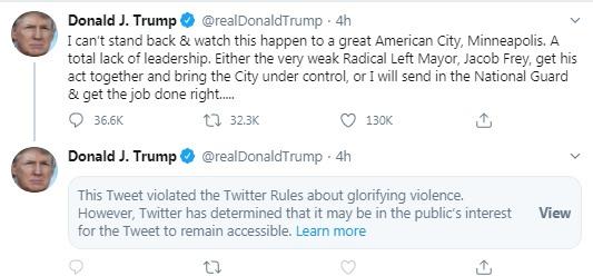 trump tweet floyd 1