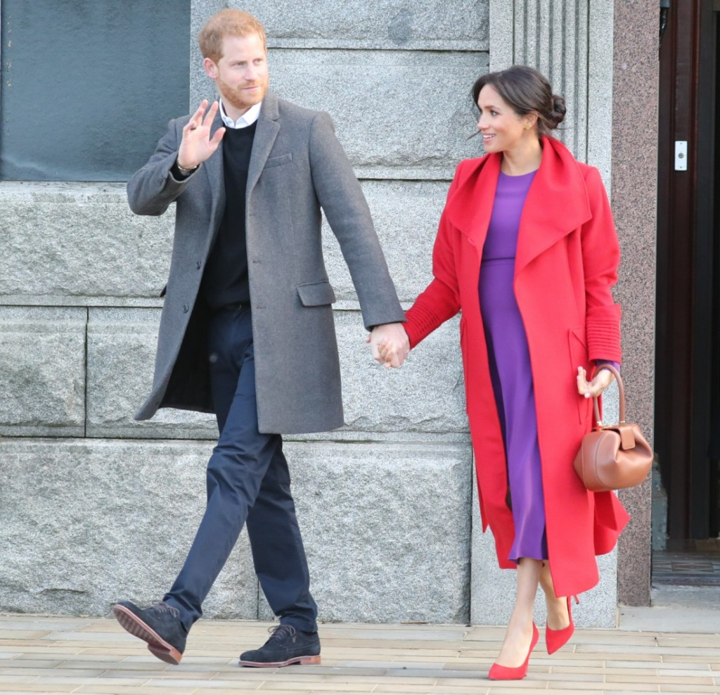The Duke and Duchess of Sussex visit Birkenhead