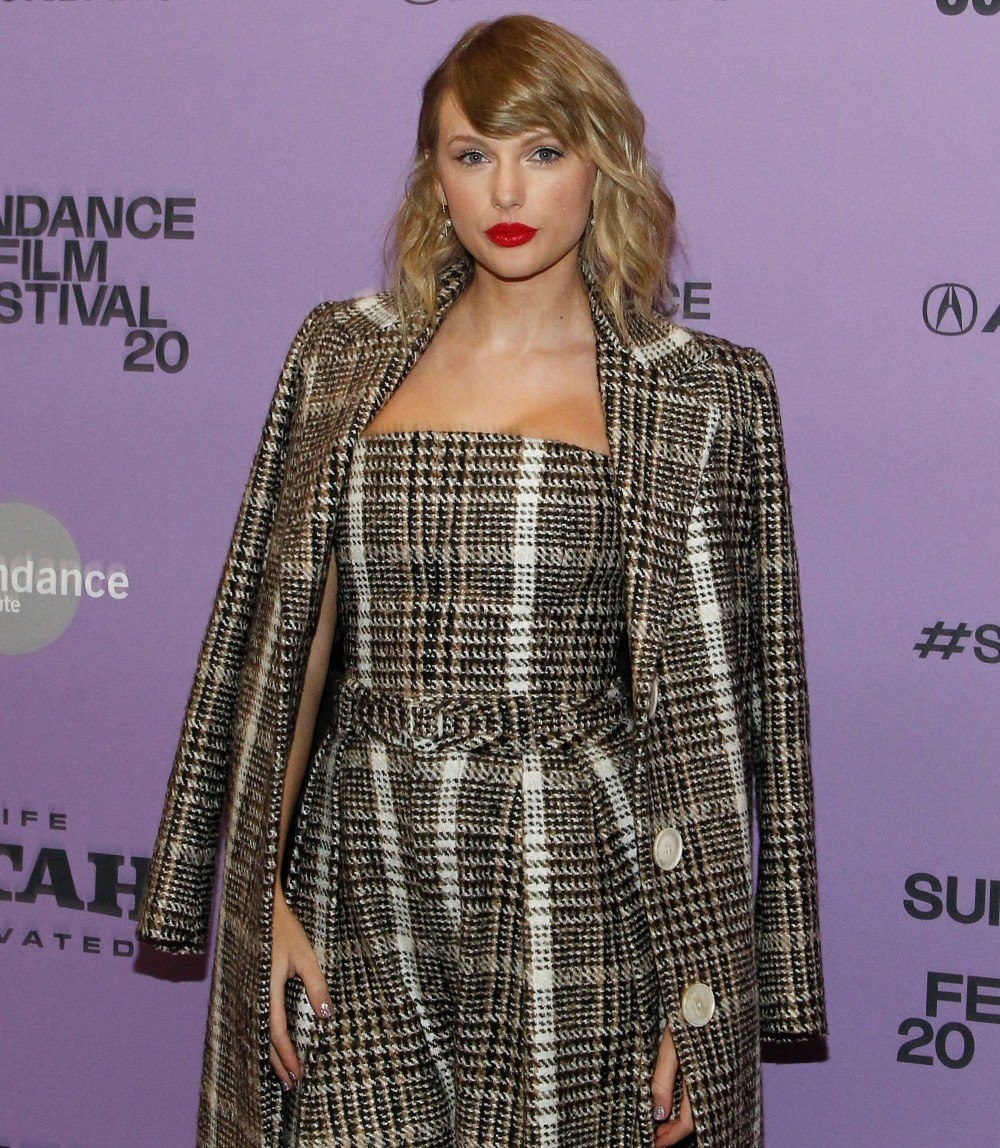 Taylor Swift at arrivals for MISS AMERIC...