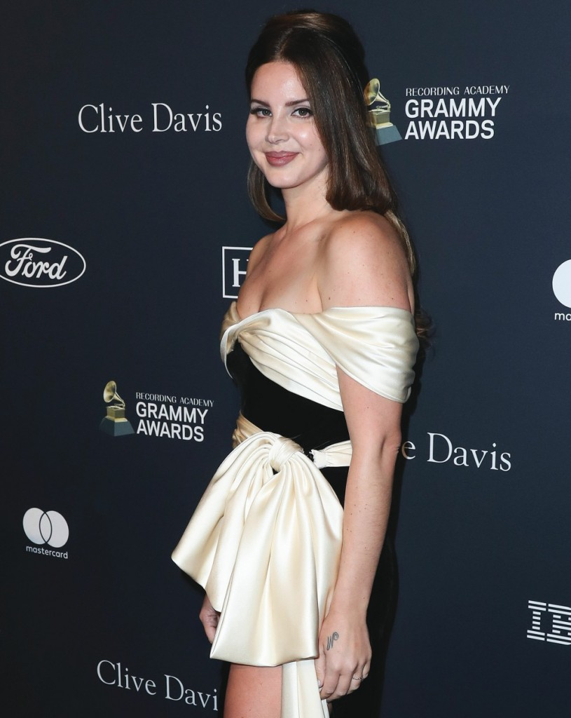Lana Del Rey arrives at The Recording Academy And Clive Davis' 2020 Pre-GRAMMY Gala held at The Beverly Hilton Hotel on January 25, 2020 in Beverly Hills, Los Angeles, California, United States.