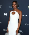 Model Naomi Campbell wearing a Stephane Rolland dress arrives at The Recording Academy And Clive Davis' 2020 Pre-GRAMMY Gala held at The Beverly Hilton Hotel on January 25, 2020 in Beverly Hills, Los Angeles, California, United States.