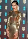 Zoe Kravitz attends the 2020 EE British Academy Film Awards on Sunday 2 February 2020