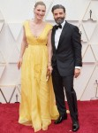 Elvira Lind and Oscar Isaac arrive on the red carpet of The 92nd Oscars® at the Dolby® Theatre...