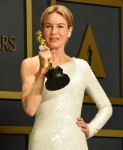 Renee Zellweger in the press room during the 92nd Annual Academy Awards at Hollywood and Highland on...