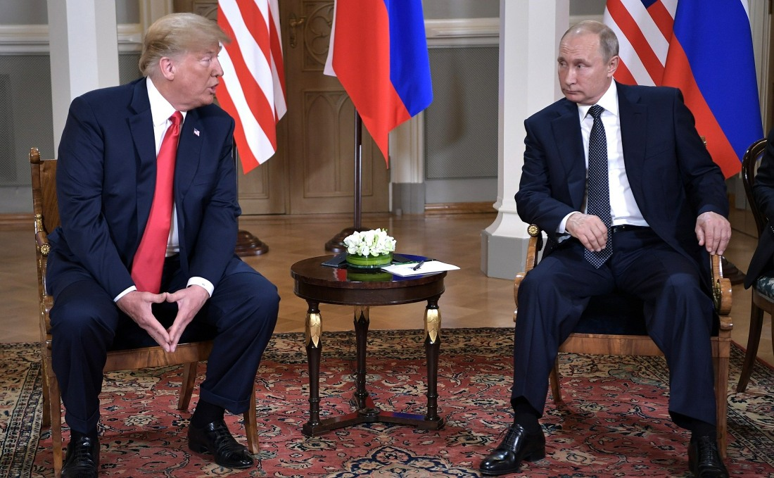 Russian U.S. Summit Meeting in Helsinki