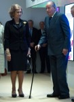 Spanish Royals Inaugurate the 'Democracy 1978-2018' Exhibition in Madrid