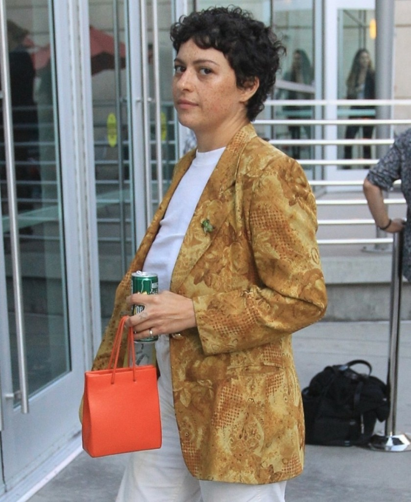 Alia Shawkat at the 'Apocalypse Now' reunion in Hollywood