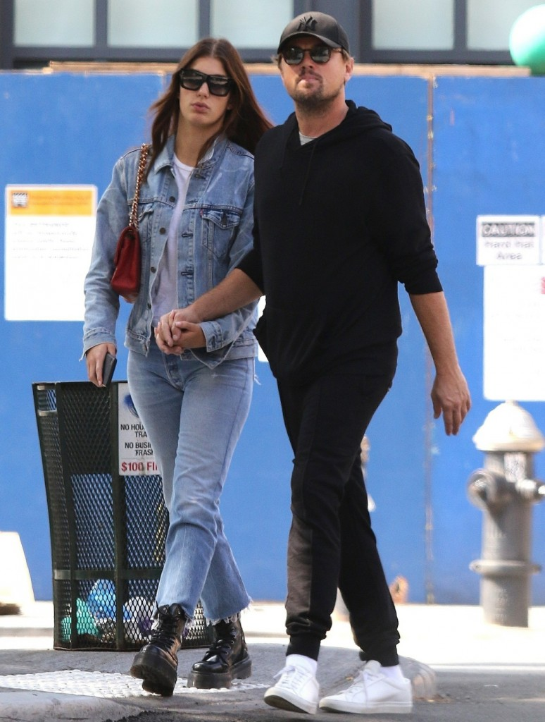 Leonardo Dicaprio and Camila Morrone still going strong! Couple walks hand-in-hand during a romantic stroll in NYC