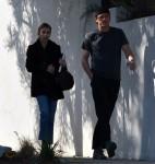 Emma Roberts leaves her boyfriend Garrett Hedlund's house