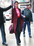 Jessica Mulroney arrives at Good Morning America