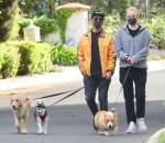 Joe Jonas steps out with pregnant Sophie Turner to walk the dogs
