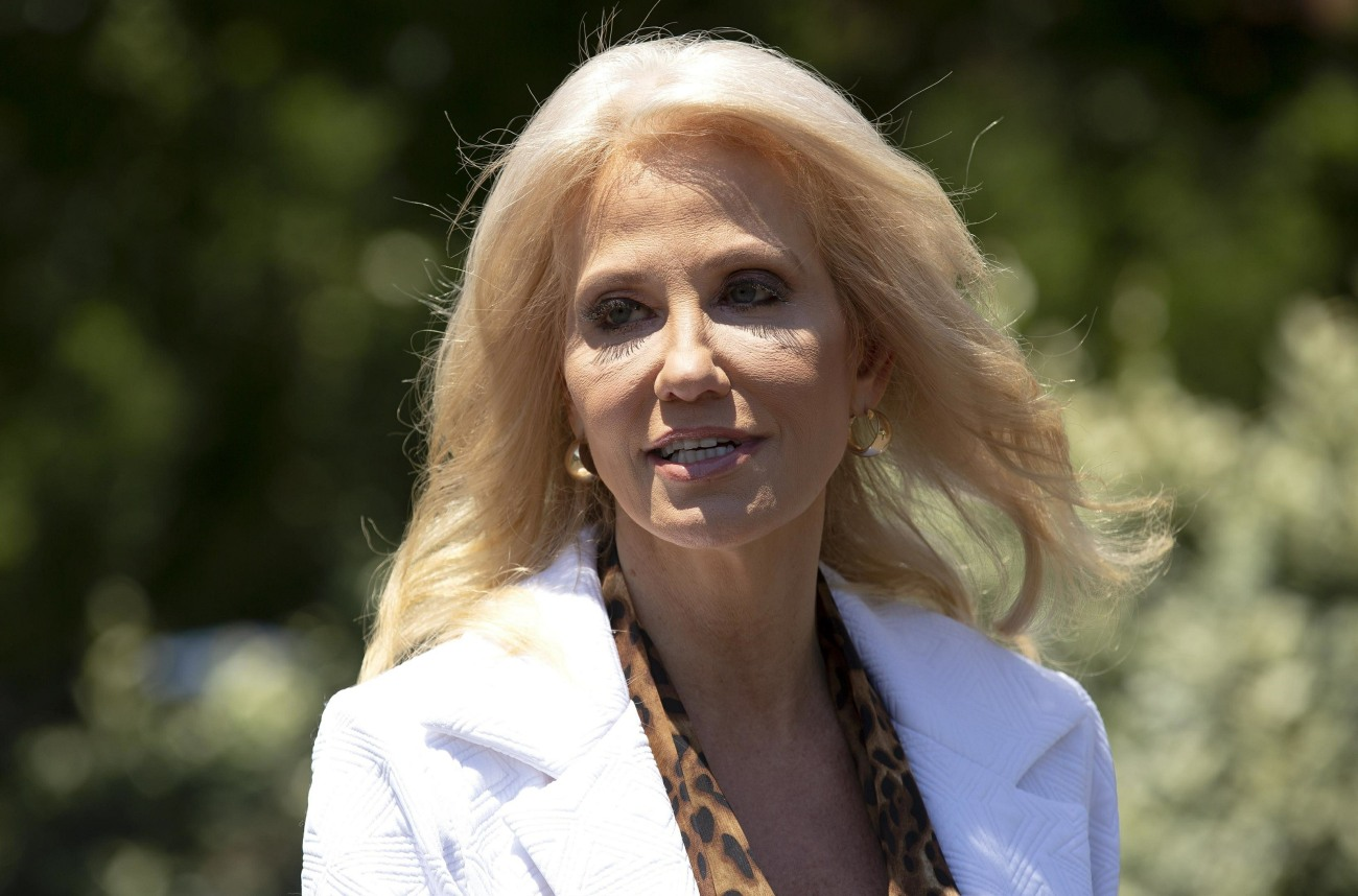 Senior Counselor Kellyanne Conway Speaks To The Media