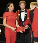 Il duca e la duchessa del Sussex arrivano all'Albert Hall per il Mountbatten Festival of Music questa sera 7 - marzo - 2020