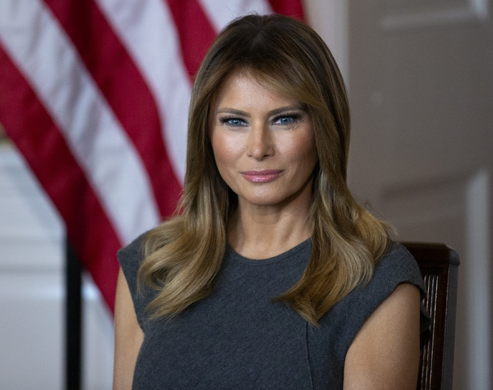 First Lady Melania Trump Hosts a Listening Session with Youth from the Truth Initiative